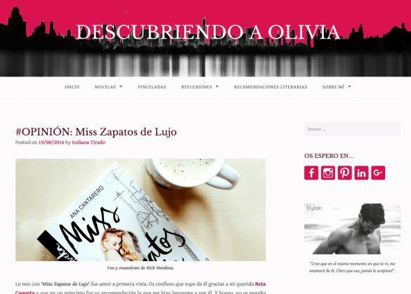 Miss Zapatos de Lujo en el Blog Descubriendo a Olivia