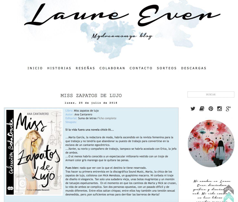 Reseña de Miss Zapatos de Lujo